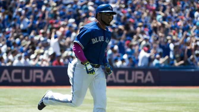 Encarnacion homers as Blue Jays sweep Athletics