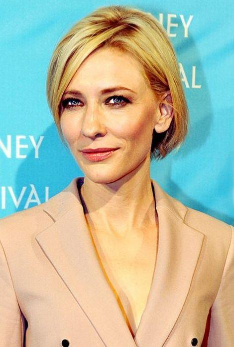 Actress Cate Blanchett at the 2011 Sydney Film Festival.