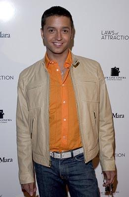 Premiere: Jai Rodriguez at the New York premiere of New Line's Laws of Attraction - 4/22/2004