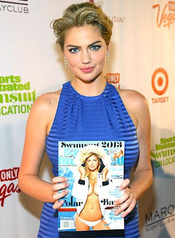 Kate Upton, Models Show Off Their Hot Bodies at Sports Illustrated Swimsuit Edition Celebration in Las Vegas