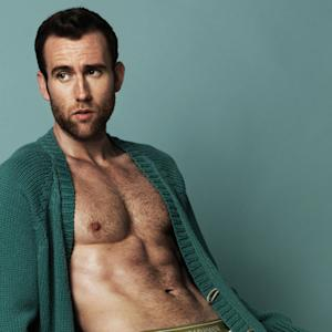 Holy Longbottom! Matthew Lewis Strips Down for 'Attitude' Magazine