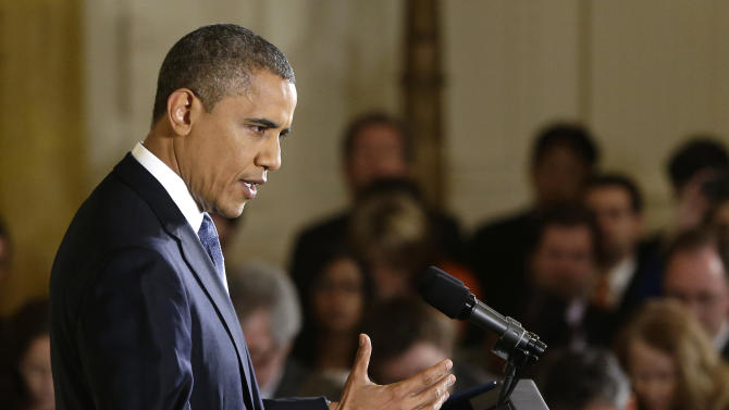 Obama pressing business and labor on fiscal cliff