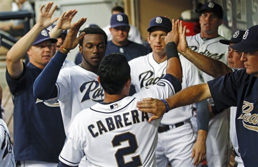 Volquez leads Padres to 3-1 win over Pirates
