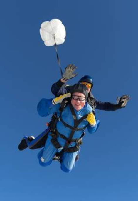 Skydiving height=