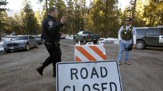 Authorities close off Highway 38 at Glass Road