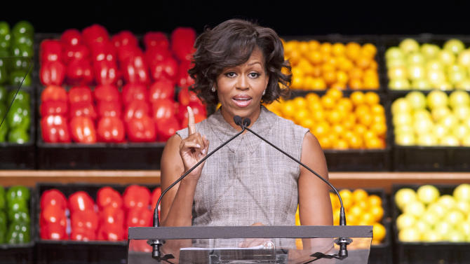 Michelle Obama highlights obesity progress in MS