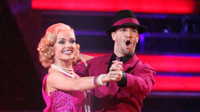 Katherine Jenkins and Mark Ballas (5/14/12)