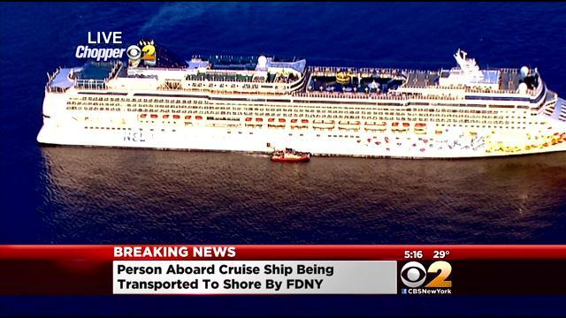 Medical Boats Called To Cruise Ship In New York Harbor