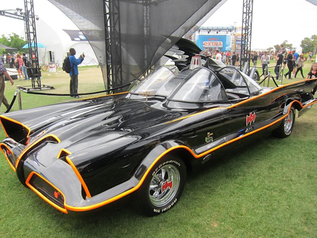 "The ""Adam West"" 1960s-era Batmobile - San Diego Comic-Con 2012"