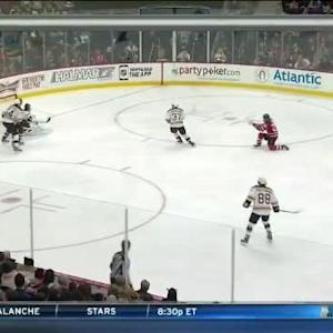 Niklas Svedberg Save on Patrik Elias (06:27/2nd)