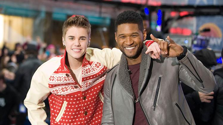 Bieber Usher Today Show