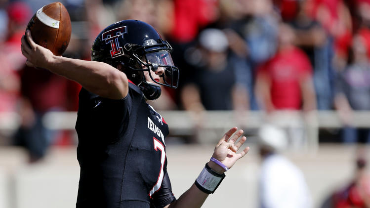 No. 20 Texas Tech beats Iowa St 42-35