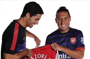 Arteta Spain snub 'strange', says Arsenal teammate Cazorla