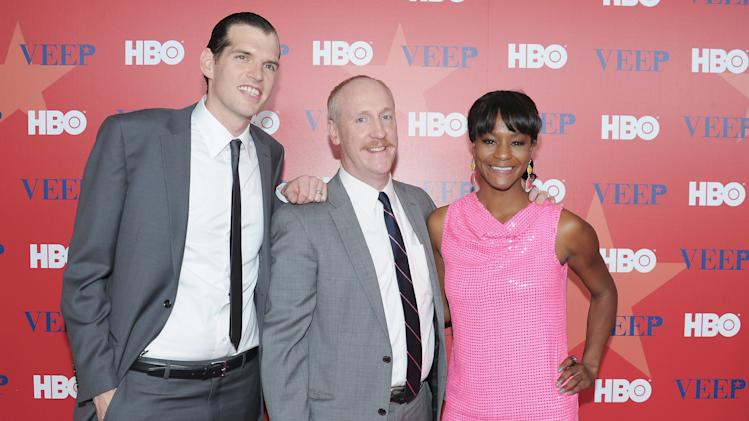 Timothy C. Simons, Matt Walsh, and Sufe Bradshaw