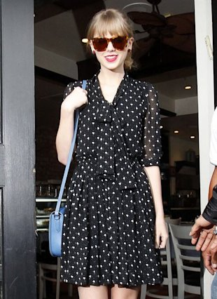 taylor swift in la