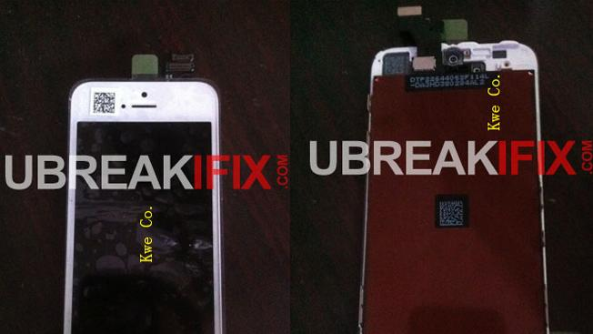 iPhone 5 front panel leaks in new photos
