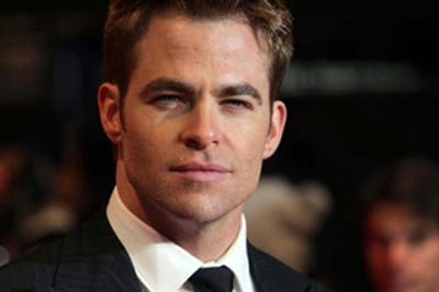 Chris Pine gets animated