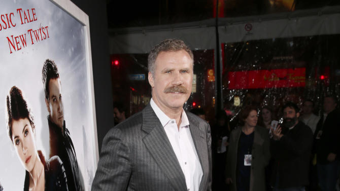 "Producer Will Ferrell attends the premiere of ""Hansel & Gretel Witch Hunters"" on Thursday Jan. 24, 2013, in Los Angeles.  (Photo by Todd Williamson/Invision/AP)"
