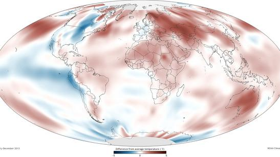Climate Records Shattered in 2013
