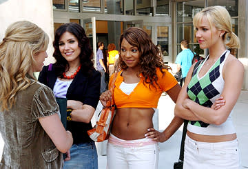 Brittany Snow , Sophia Bush , Ashanti and Arielle Kebbel in 20th Century Fox's John Tucker Must Die