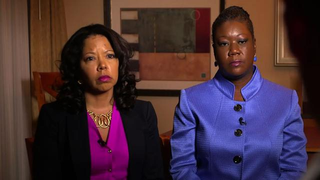 "Mothers of Trayvon Martin and Jordan Davis protest ""Stand Your Ground"" in Florida"