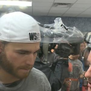 Raw Video: Crawford, Morse, Posey, Sandoval After Giants Win 2014 World Series