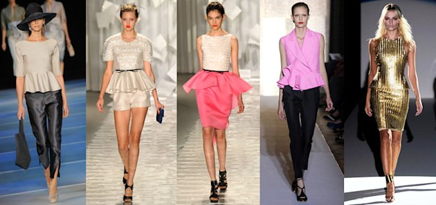 Giorgio Armani, Jason Wu, Yves Saint Laurent and Hakaan Spring/Summer 2012 (Getty Images)