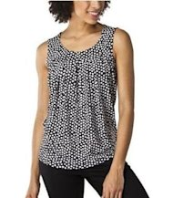 dot tank black top merona