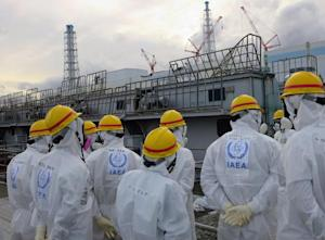 Inspectors from the International Atomic Energy Agency …