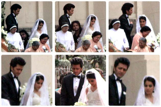 Riteish marries Genelia