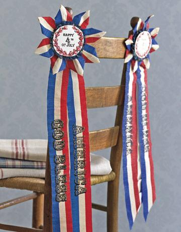 Old Award Ribbons from Crepe Paper