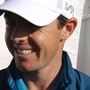 Rory McIlroy interview after Round 1 of Cadillac Match Play