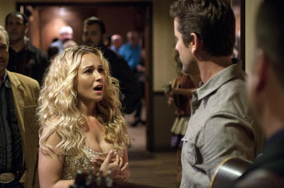 Hayden Panettiere as Juliette in a scene from the 'Nashville' pilot