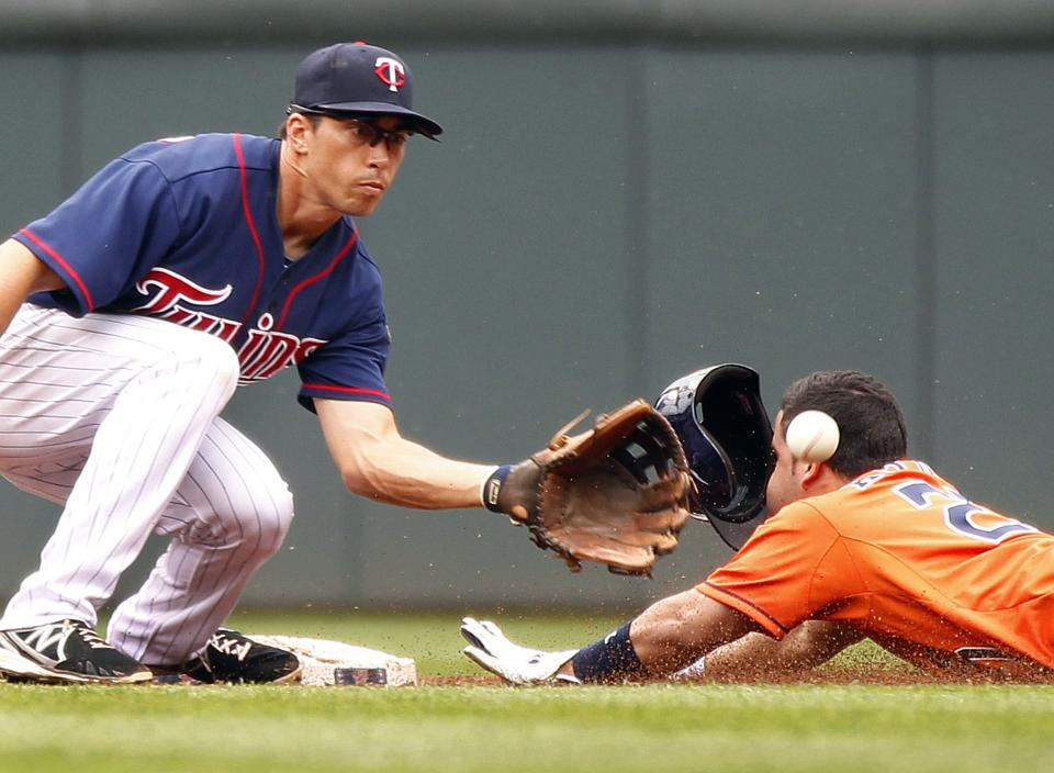 Morneau and Arcia homer, Twins sweep Astros
