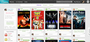 Rinema Lets You Organise, Share And Explore New Movies image My Rinema feed 1024x477