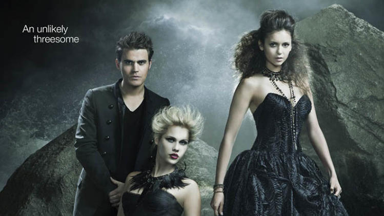"""The Vampire Diaries"" Season 4 Poster"
