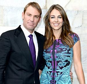 "Elizabeth Hurley, Fiance Shane Warne Address Split Rumors: ""Sorting Through Issues"""