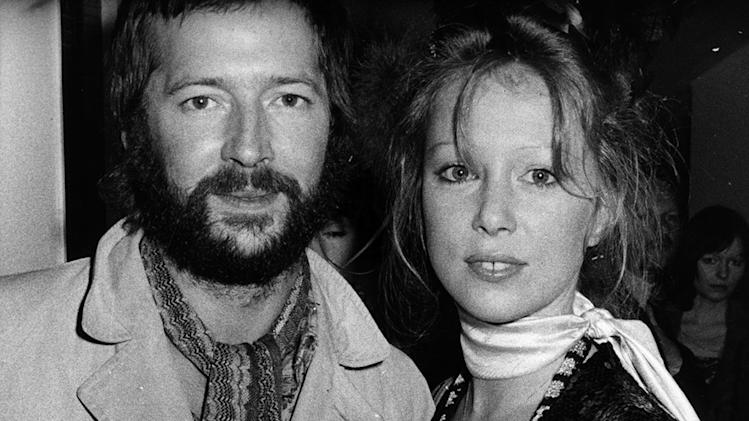 Eric Clapton And Pattie Boyd