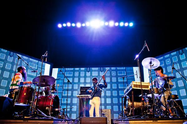 Station to Station Kicks Off Cross-Country Tour with Dazzling Stunts