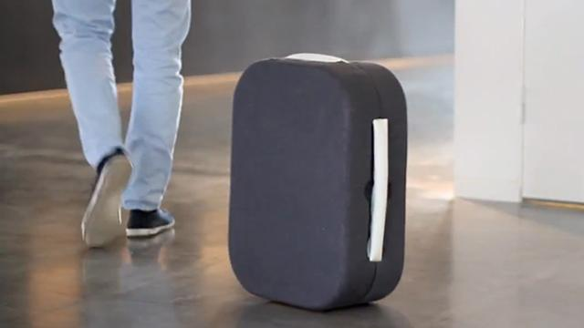 Suitcase of the Future Follows You