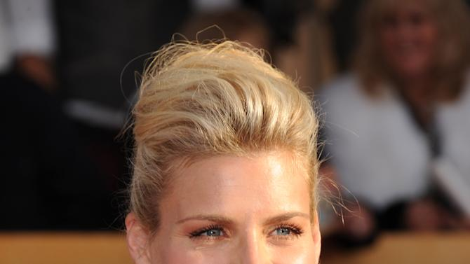 Busy Philipps arrives at the 19th Annual Screen Actors Guild Awards at the Shrine Auditorium in Los Angeles on Sunday, Jan. 27, 2013. (Photo by Jordan Strauss/Invision/AP)
