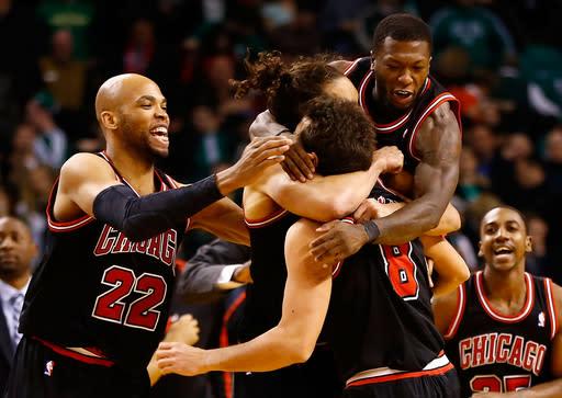 Bulls extend Friday road show, beat Celtics in OT