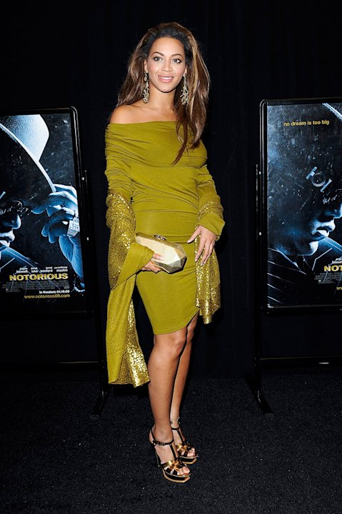 Notorious NY Premiere 2009 Beyonce Knowles