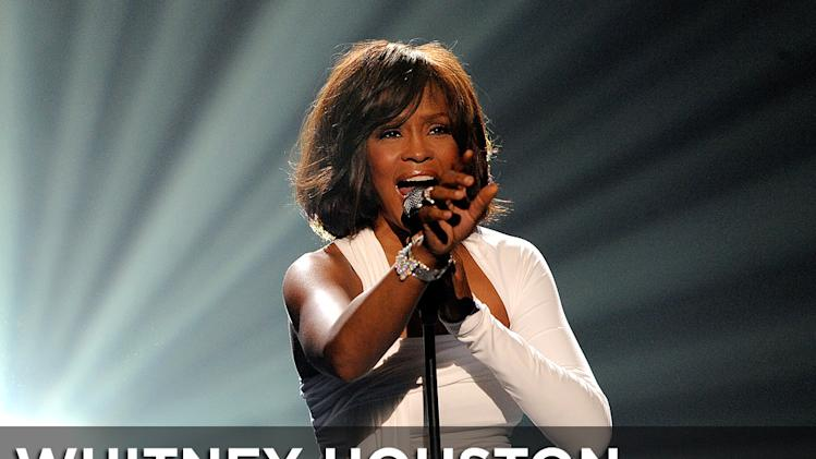 Whitney Houston Obit Title Card