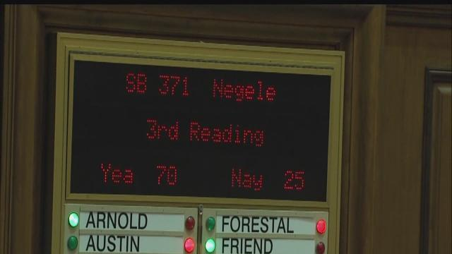Indiana House votes 70-25 to pass abortion measure to governor's desk
