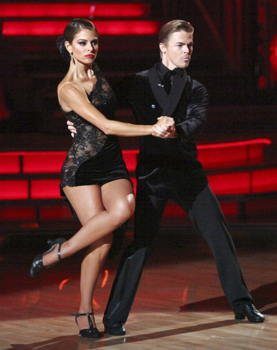Maria Menounos and Derek Hough …