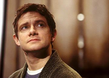 Martin Freeman as Arthur Dent in Touchstone Pictures' The Hitchhiker's Guide to the Galaxy