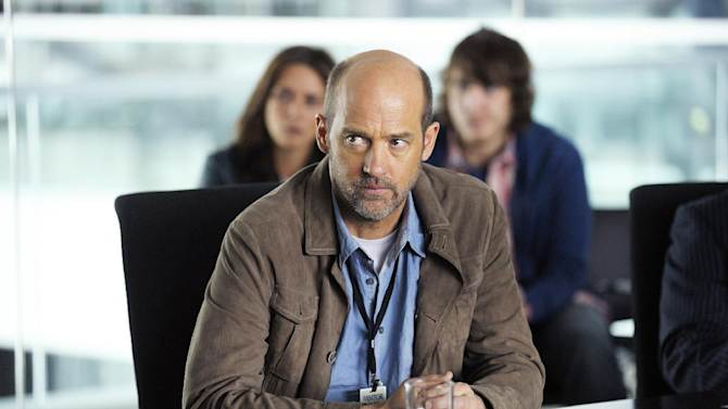 """This TV image released by ABC shows Anthony Edwards in a scene from """"Zero Hour."""" Edwards plays Hank Galliston, a magazine publisher who descends into an historical mystery after his wife is kidnapped. """"Zero Hour,"""" premieres Feb. 14, 2013 on ABC.  (AP Photo/ABC, Phillippe Bosse)"""