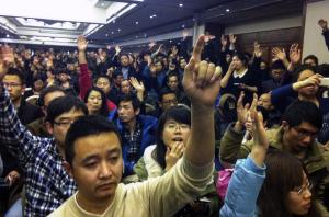 Family members of passengers aboard Malaysia Airlines…