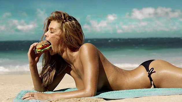 'SI' Model Stars in Sexy Carl's Jr Ad (ABC News)
